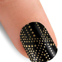 At Your Fingertips Nail Stickers in City Lights | Mod Retro Vintage Cosmetics | ModCloth.com