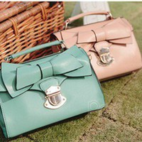 Retro CUTE buckle bow Mobile Messenger bag 2246 from Fashion Accessories Store