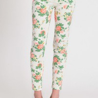 garden breeze floral pants at ShopRuche.com