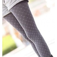 *Free Shipping* Women Grey Legging One Size A172