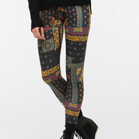Urban Outfitters - BDG Baroque Tile High-Rise Legging