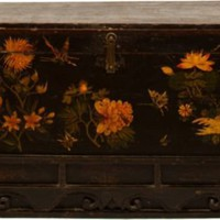 One Kings Lane - Erin Taylor, Botanik - Hand-Painted Asian Trunk