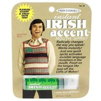 Amazon.com: Gag Gifts - Instant Irish Accent Breath Spray: Toys & Games