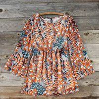 Feathered & Flocked Dress
