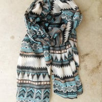Native Rivers Scarf [3333] - $13.60 : Vintage Inspired Clothing &amp; Affordable Fall Frocks, deloom | Modern. Vintage. Crafted.