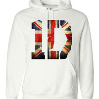 One Direction 1D Logo Sweatshirt Hoodie Pullover Union Jack OR Floral