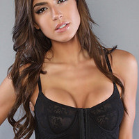 The Underwire Crop Bra in Black use code MSCURF to get 20% off!!