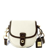 Dooney & Bourke Cork with Dark Brown trim Mini Flap Crosbody