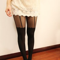 HEART SUSPENDER STOCKINGS from brave store