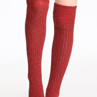 Rib Slouch Tall Sock by Free People - $28.00 : ThreadSence.com, Your Spot For Indie Clothing & Indie Urban Culture