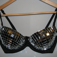 Custom Disco Bra by gabriellasarah on Etsy