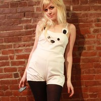 Polar Bear Playsuit by imyourpresent on Etsy