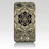 Amazon.com: Obey Peace and Justice Ornament Hard Case Cover Skin for Iphone 4 4s Iphone4 At&t Sprint Verizon Retail Packing: Everything Else