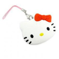 Kitty Earphone Bobbin Winder Mobile Phone Pendant Concentrator