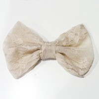 Cream Lace from OHMYBOWS