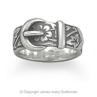 Floral Belt & Buckle Ring from James Avery