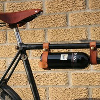 Bicycle Wine Rack (1&quot; frame) TAN