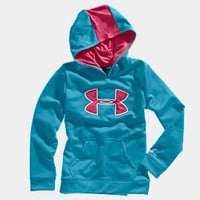 Girls' Armour® Fleece Storm Big Logo Hoody | 1232174 | Under Armour US