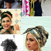 Dress it up! / Great ways to use those vintage scarfs!