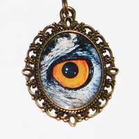 Owl Eye Necklace