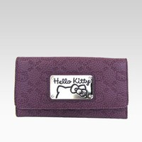 shop.sanrio.com - Hello Kitty Purple Wallet: Embossed Bows