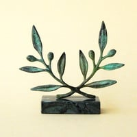 Bronze Wreath - Olive branch