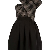 Carven Tartan Dress - Bernard - farfetch.com