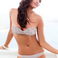 Flower diNeila Brazil - Bandeau Top - Brazilian Bottom