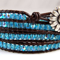 Custom Chan Luu Style Leather Wrap Bracelet - Custom Order
