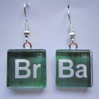 Breaking Bad - Glass Tile Earrings