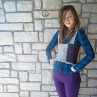 Wool Sweater Vest / Womens Tank Top / Autumn Clothing