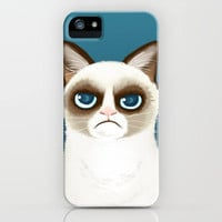 Grumpy iPhone Case~~~follow me???~~~