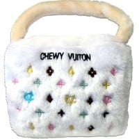 Chewy Vuiton Handbag Plush Dog Toy for Large Dogs