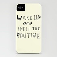 WAKE UP iPhone Case | Print Shop