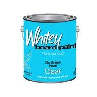 Whiteyboard 25 Sq Ft Dry Erase Paint, Clear