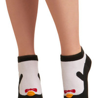 Kindred Soles Socks in Penguin | Mod Retro Vintage Socks | ModCloth.com