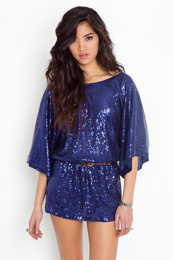 Luxor Sequin Dress in  What's New at Nasty Gal