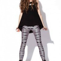 Tape Leggings - Black Milk Clothing