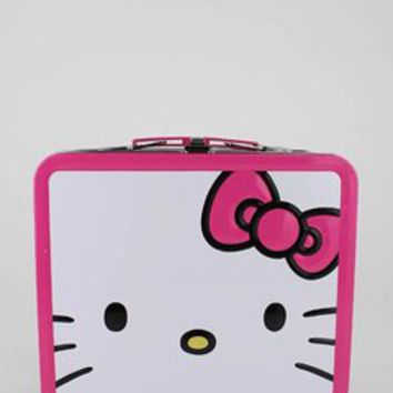 hello kitty giant face lunchbox $13.80 in PINKBLACK - New Stuff | GoJane.com