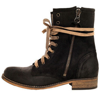 GYPSY WARRIOR - Hydra Combat Boot - Black