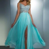 Cassandra Stone Dress 64364A at Peaches Boutique