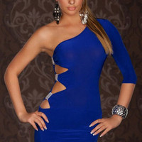 Sexy Funky Naughty Night Club Fashion Designer Cocktail Dress 6 8 10 12