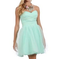 Pre-Order: Taylor-Mint Prom Dress