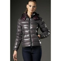 Women Moncler Bady Feather Down Jacket Dimgray