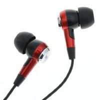 Stylish Character In-Ear Stereo Earhpone Headphone (Red/Black)