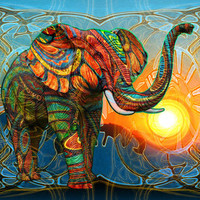 Elephant's Dream Stretched Canvas by Waelad Akadan | Society6