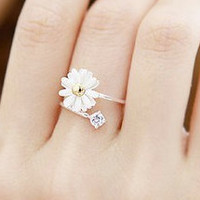 Chrysanthemum Flower Ring