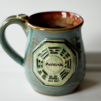 $30.00 Dharma Mug  Made to Order by MissPottery on Etsy