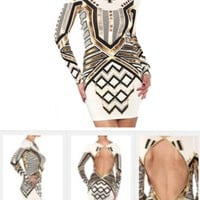 The Metallic Goddess Dress