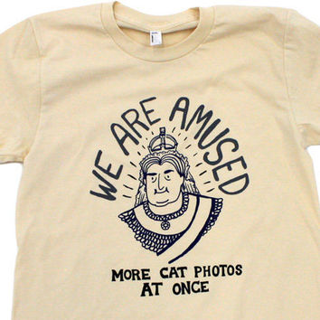 TopatoCo: We Are Amused Shirt